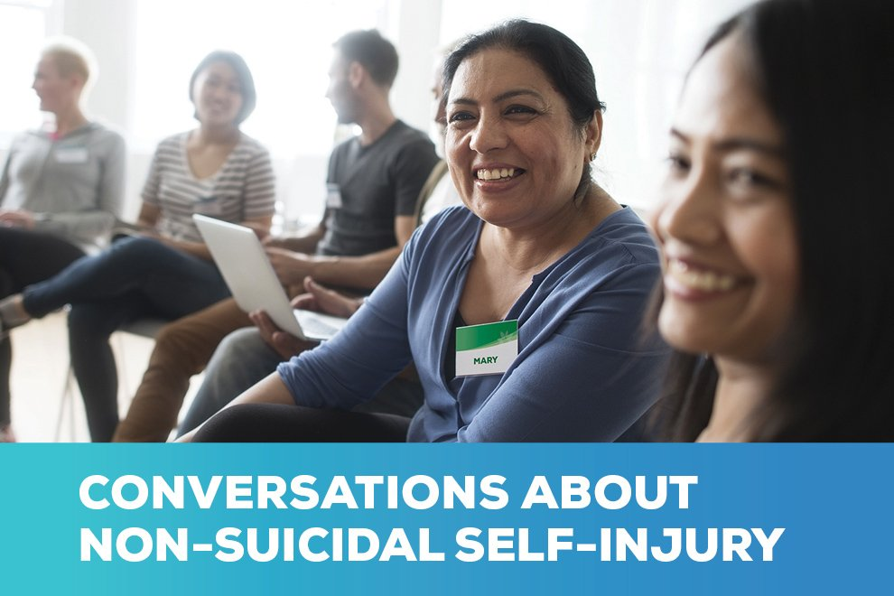 Conversations about NSSI (non-suicidal self injury)